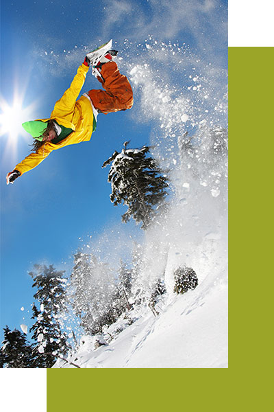 Hotel Grünholz - Snowboarden
