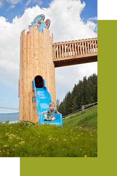 Hotel Grünholz - Spielplatz-Natrun