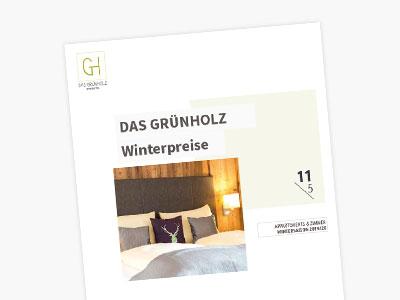 Hotel Grünholz - Winterpreise