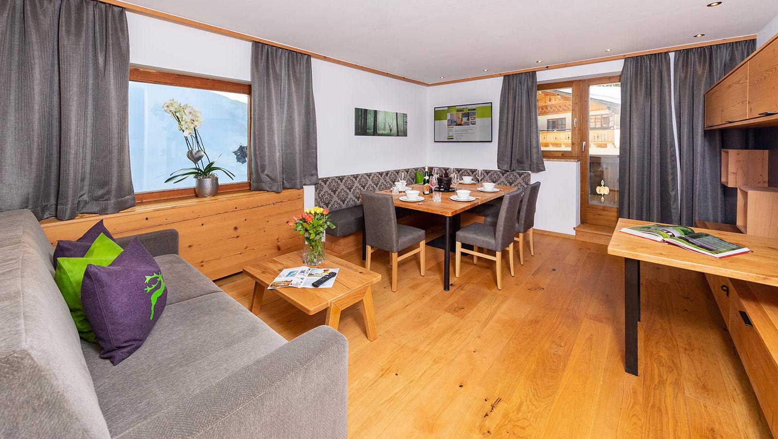 Hotel Grünholz Zimmer und Appartements Hochkönig
